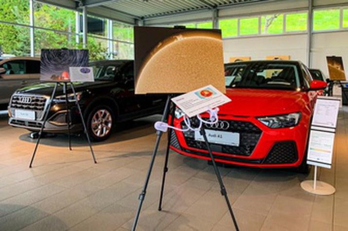 Ausstellung Sonne Audi